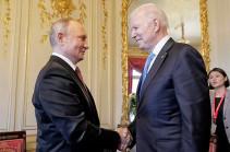 Путин и Байден поприветствовали друг друга рукопожатием перед саммитом РФ - США