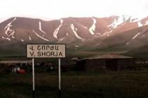 Ադրբեջանական զինծառայողները Վերին Շորժայից գողացել են կով և հորթ, կրակել են խոշոր եղջերավոր կենդանիների ուղղությամբ․ ՄԻՊ