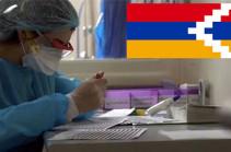 В Арцахе выявили два новых случая заражения коронавирусом