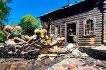 В Эстонии сожгли православную церковь