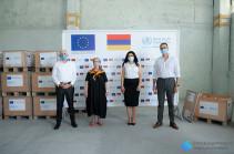 Հայաստանին փոխանցվել է թոքերի արհեստական շնչառության 22 սարքավորում