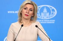 Захарова заявила, что напряженность на границе Армении и Азербайджана снижается