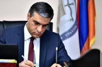 Правительство обязано при обсуждении делимитации и демаркации границ учитывать права жителей Армения – Арман Татоян