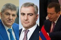Ադրբեջանը միջազգային հետախուզում է հայտարարել Արա Աբրահամյանի, Սամվել Կարապետյանի և Դավիթ Գալուստյանի նկատմամբ