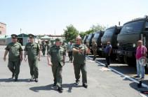 ԳՇ պետի տեղակալը կենտրոնական հավաքակայանում ծանոթացել է ամառային զորակոչի նախապատրաստական աշխատանքներին