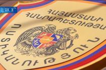 "Police prepare materials on anti-propaganda materials spread in Yerevan streets against ""Armenia"" bloc"
