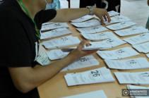 Известны результаты электронного голосования: блок «Армения» получил 135 голосов, «Гражданский договор» – 163