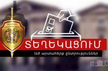 Ոստիկանությունը պատգամավորի թեկնածուի առաջադրման կապակցությամբ ՀՀ-ում մշտապես բնակվելու վերաբերյալ տեղեկանքներ տրամադրելու 3.608 դիմում է քննարկվել