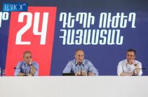 Блок Кочаряна «Армения» не признает результаты выборов и обратится в Конституционный суд