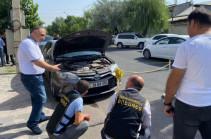 Под машину Миграна Акопяна бросили гранату