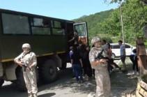 Российские миротворцы сопроводили 150 паломников и жителей Нагорного Карабаха при посещении христианских монастырей Амарас и Ганзасар