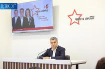 Мы не знаем, какой результат имели бы в случае объединения трех президентов – Артур Ванецян
