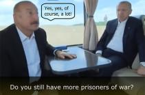 Омбудсмен Армении отправил высшему руководству ЕС неопровержимое доказательство – видео разговора между президентом Азербайджана и первой леди Турции