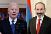 """Common values underlie Armenian-American relations"" - Nikol Pashinyan congratulates Joe Biden on U.S. Independence Day"