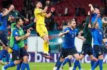 Сборная Италия победила Испанию в серии пенальти и вышла в финал Евро