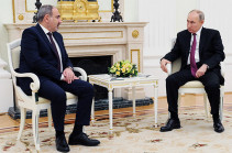 На границе с Азербайджаном имеем очаг постоянного беспокойства - Пашинян на встрече с Путиным