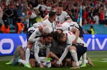 Англия впервые вышла в финал Евро