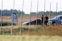 Все девять человек на борту разбившегося в Швеции самолета погибли