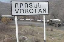 Возбуждено уголовное дело по факту дачи и получения избирательной взятки в селе Воротан