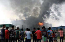 Bangladesh factory fire: At least 52 people killed in overnight blaze