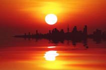 В Кувейте воздух прогрелся до +70°С