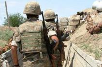 Армянская сторона не открывала огонь в направлении азербайджанских позиций – Минобороны Армении