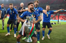 Italy becomes European football champion for the second time in history