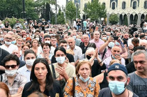 В Грузии в ходе протестов собравшиеся выдвинули премьеру ультиматум