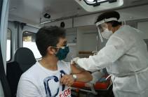 108,107 people got vaccinated against coronavirus in Armenia
