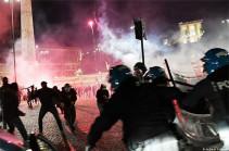 В Великобритании 19 полицейских ранены в результате беспорядков после матча с Италией