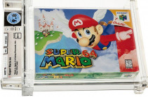 Super Mario 64 game sells for record-breaking $1.5m at auction