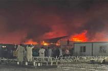 Iraq hospital fire: Protests as Covid ward blaze kills 50
