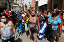 Cuba: Man confirmed killed in anti-government unrest