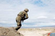 Armenian soldier killed from Azeri fire in Yeraskh section of Armenian-Azerbaijani border