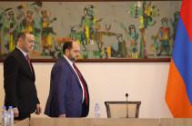 Armen Grigoryan meets MFA staff