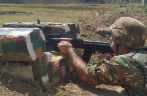 Azeri forces open fire in direction of Armenian positions in Yeraskh section of the border