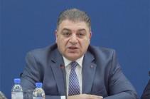 Armenia's MFA Secretary General Vahagn Melikyan dismissed from post