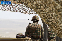 Azerbaijani forces open fire on Armenian positions in Yeraskh section of the border