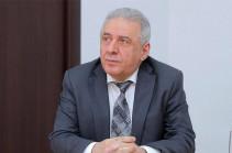Armenia's acting DM Vagharshak Harutyunyan resigns