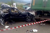 Երթևեկելու ընթացքում պայթել է Վանաձորի 35-ամյա բնակչի «Մերսեդես-Բենց E-350» մակնիշի ավտոմեքենայի գազի գլանանոթը. վարորդը տեղում մահացել է