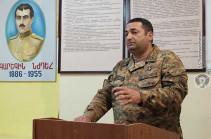 1-ին զորամիավորման հրամանատարի տեղակալը հավաք-խորհրդակցություն է անցկացրել