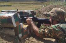 В результате обстрела ВС Азербайджана на участке Гегаркуника ранены трое армянских военнослужащих