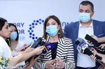 В Армении присутствует «дельта» штамм коронавирусной инфекции – Анаит Аванесян