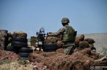 Azeri side again resumes shooting in Yeraskh direction of Armenian-Azerbaijani border