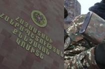 Soldier killed in Artsakh shot himself