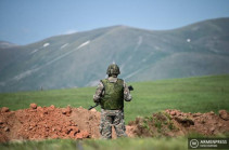 Missing soldier found in severe condition - Gegharkunik governor