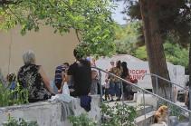Ռուս խաղաղապահները Լեռնային Ղարաբաղի հեռավոր շրջանների 20 բազմազավակ ընտանիքների մարդասիրական օգնություն են տրամադրել
