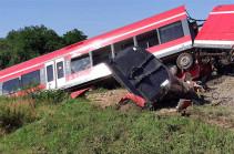 Поезд на границе Польши и Германии столкнулся с грузовиком