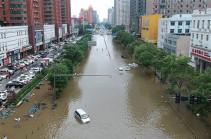 Չինաստանի Հենան նահանգում ջրհեղեղի զոհերի թիվը հասել է 99-ի