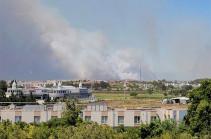 Украина направит Турции самолет для тушения лесных пожаров